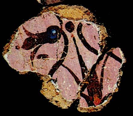 ציור קיר 'שושן' מצדה ארמון צפוני לוקוס 92 פרסטר תמונה 8