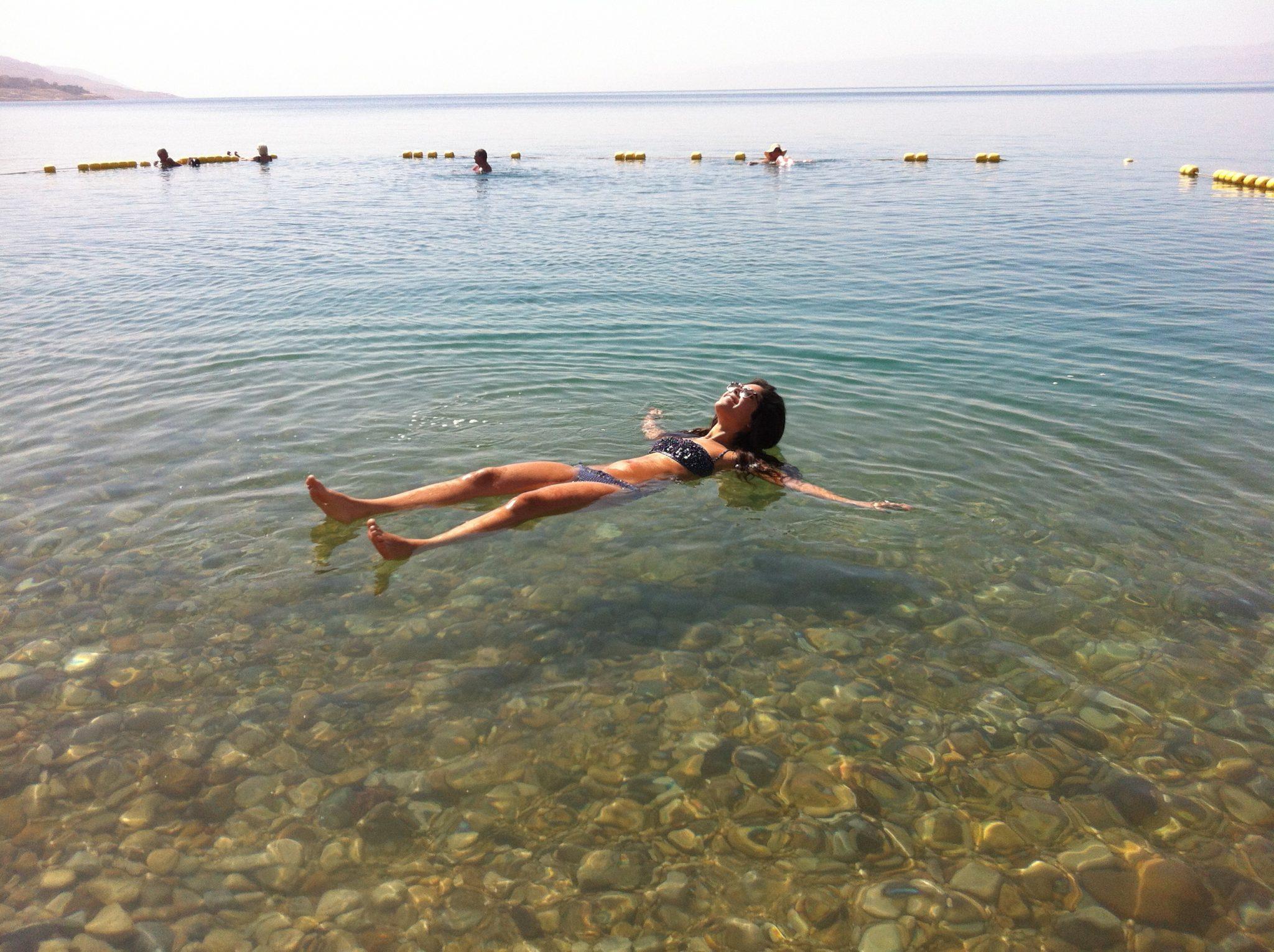 יום כיף במלון וחוף ים המלח