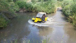 bagi tractoron ranger golan water