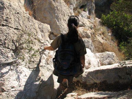 טיול בנחל שורק, מערת שמשון