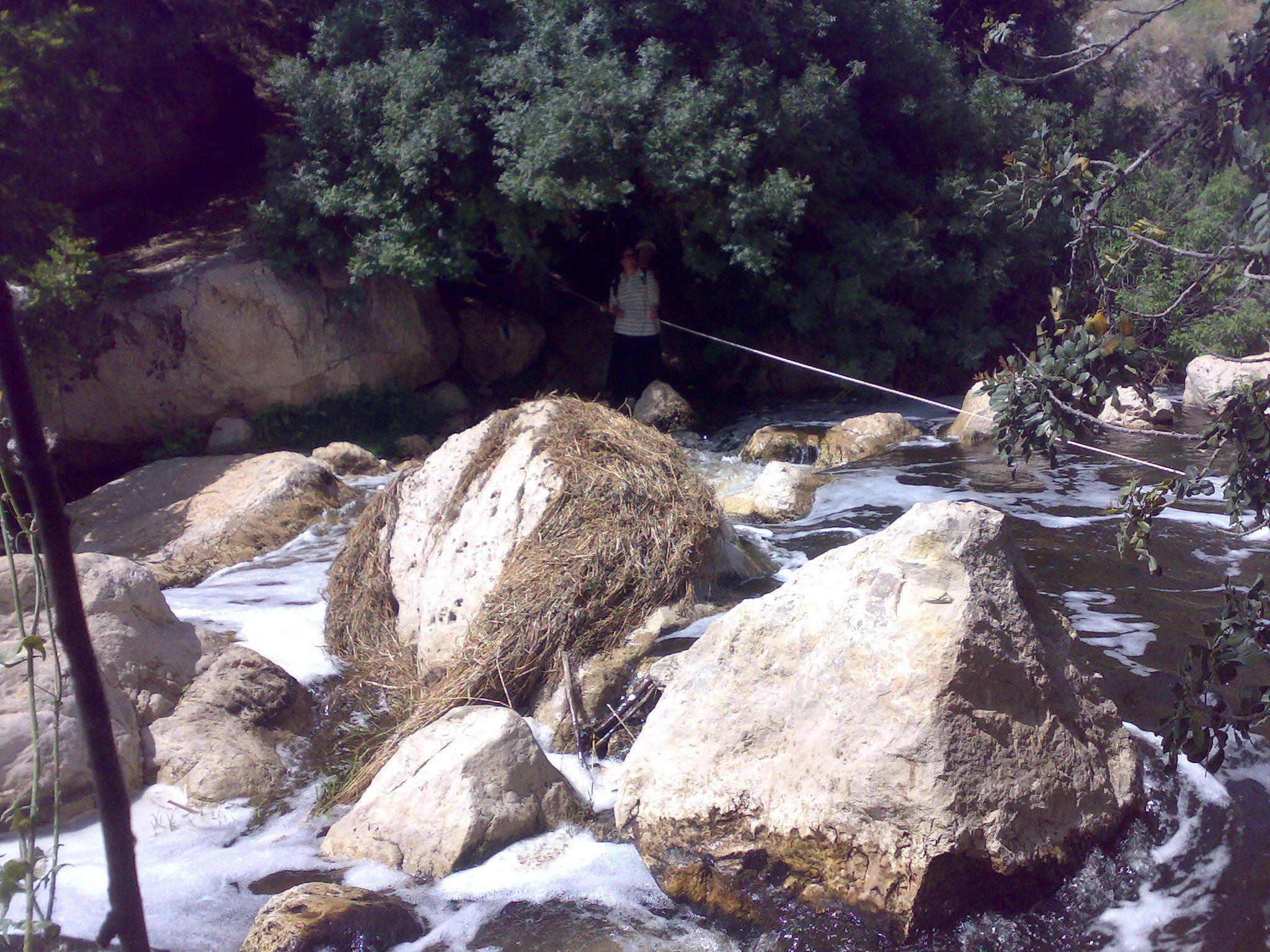 חציית מים בשורק ההררי