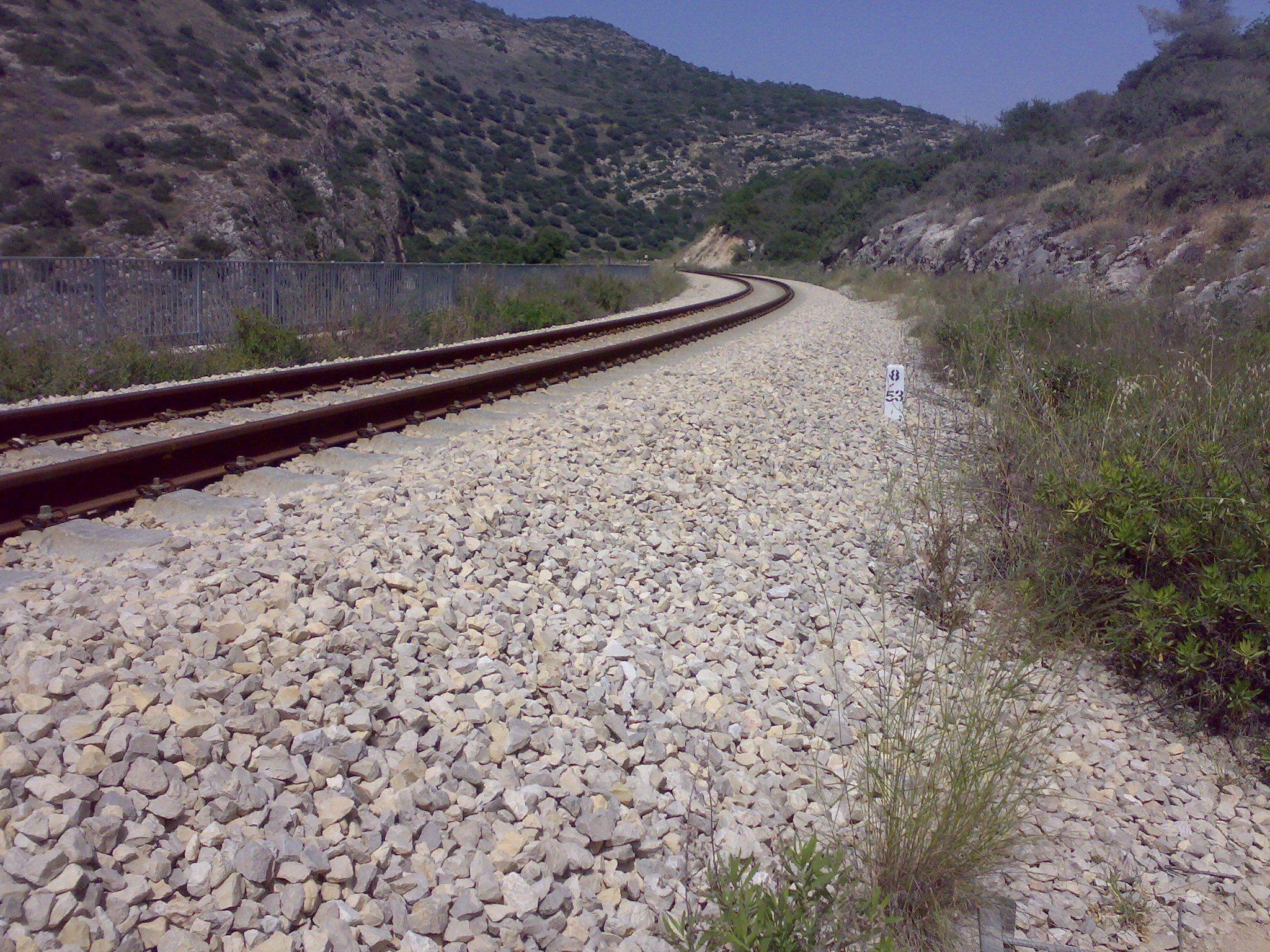 טיול בנחל שרק, מסילת הרכבת ירושלים-בית שמש