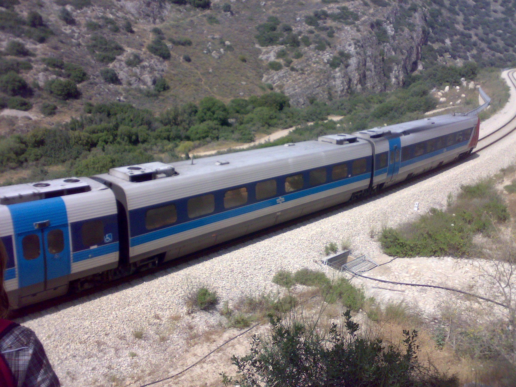 רכבת בית שמש-ירושלים לאורך נחל שורק