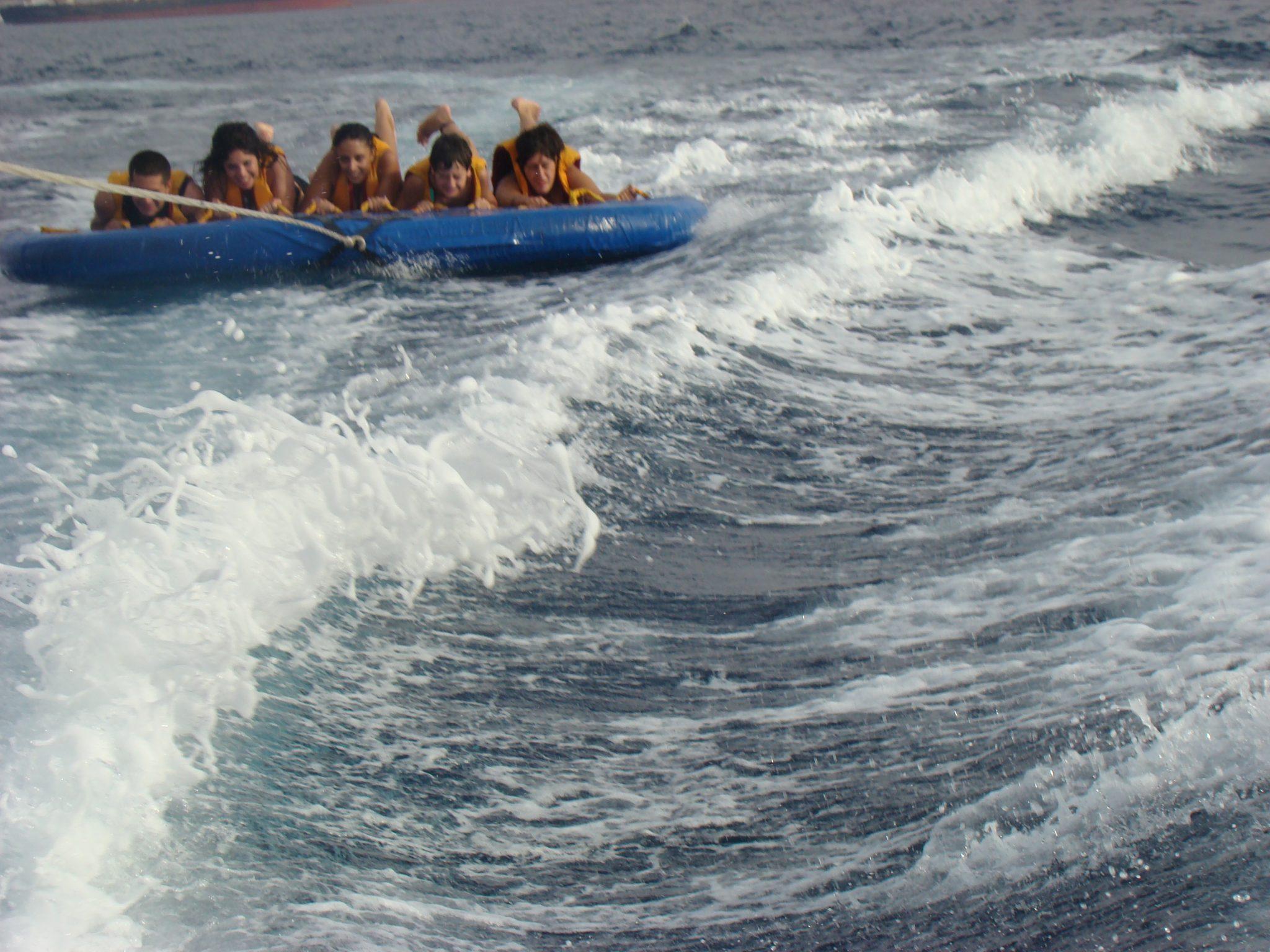 שייט אבובים במפרץ אילת
