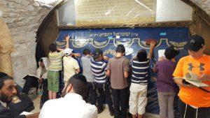 תפילה בקבר שמואל הנביא
