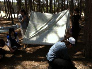 סדנת אוהלים