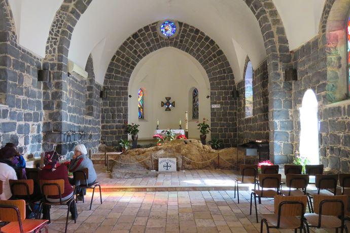 כנסיית פטרוס (מנזה כריסטי), טיילת הבשורה בצפון הכינרת