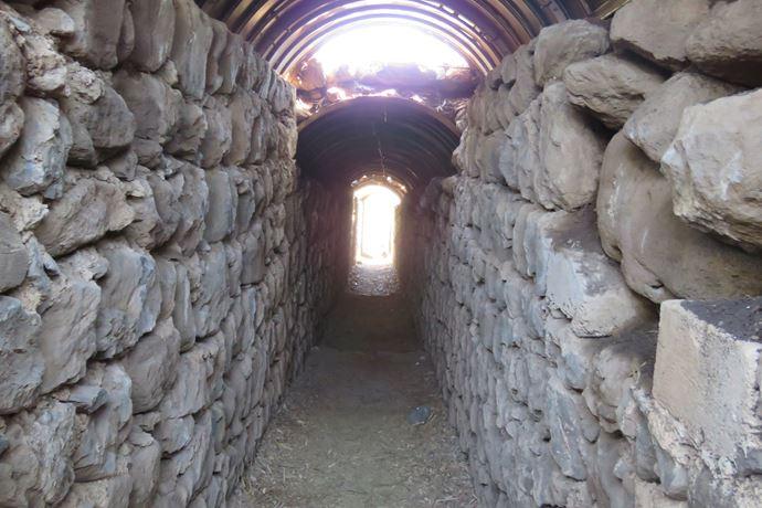 טיול בתל פאחר - מצפה גולני