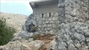 בונקר בעלייה למערת אצבע