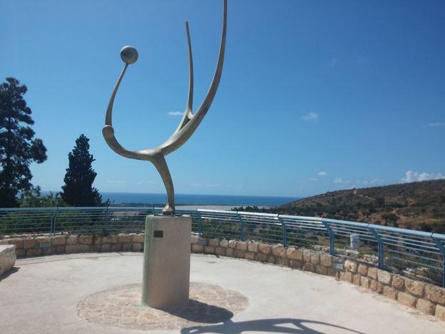 עין הוד בכרמל, טיול בקטע משביל ישראל