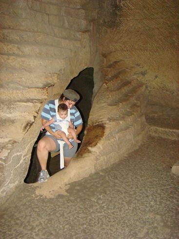 טיול בבית גוברין-מרשה, בור מים מערכת מגורים תת-קרקעית