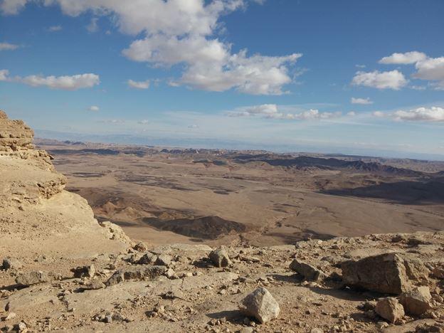 """מראה המנסרה מטיילת מכתש רמון, צילום: ד""""ר ענת אביטל"""