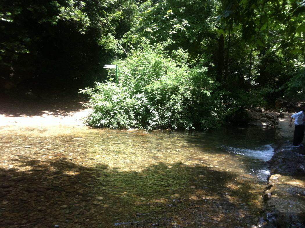 נופי מים בנחל כזיב