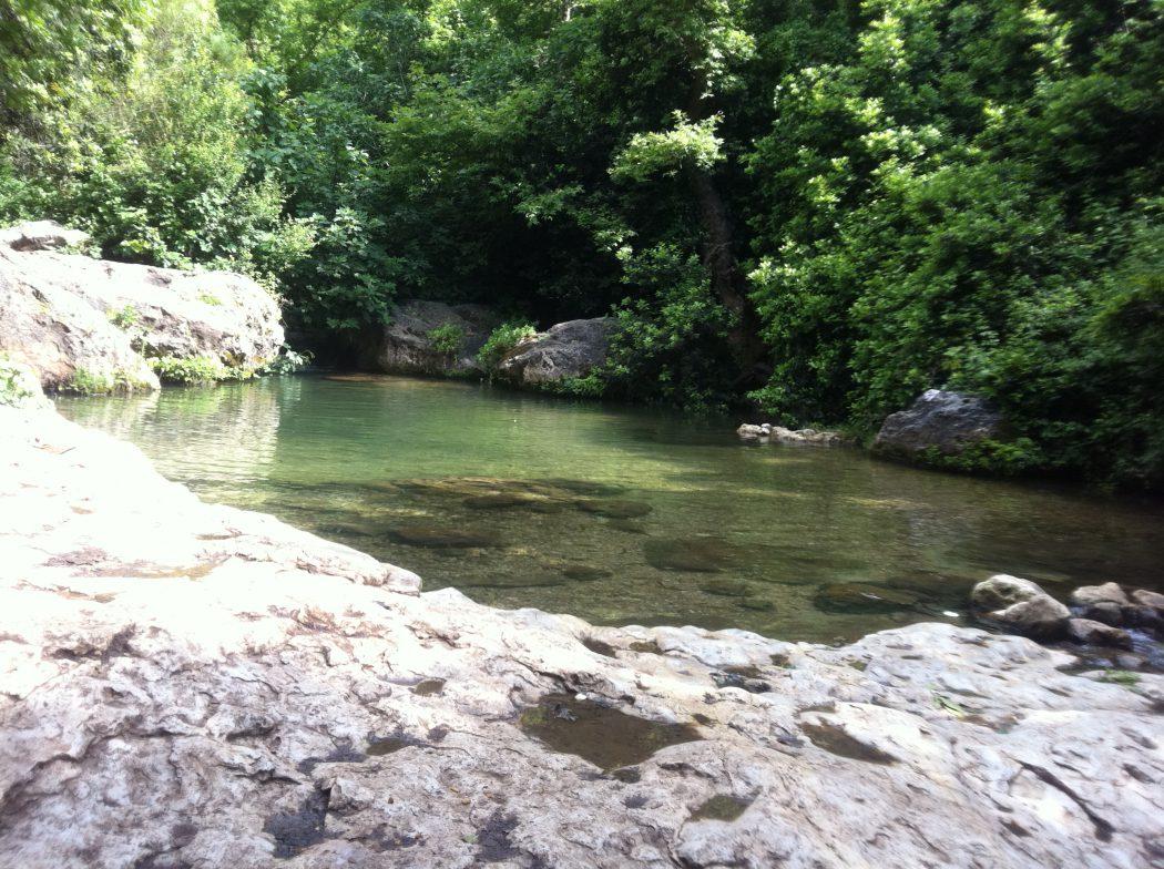 נופי המים בנחל כזיב