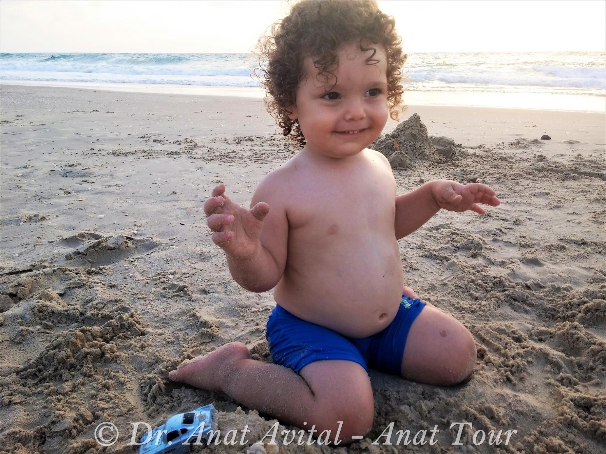 """חוף פלמחים- שפך נחל שורק (ד""""ר ענת אביטל)"""
