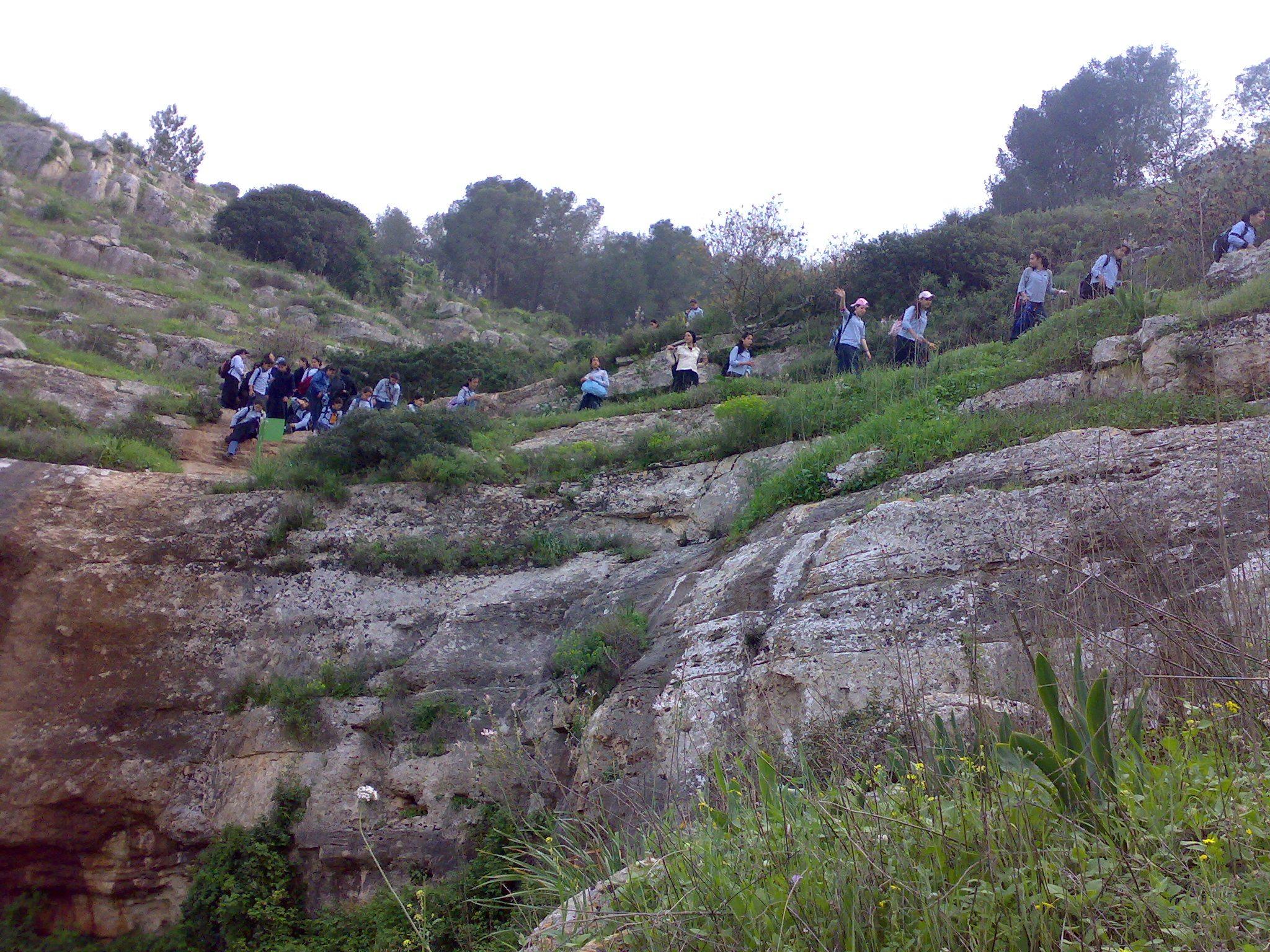 """העמק הנעלם בגלבוע (צילום: ד""""ר ענת אביטל)"""