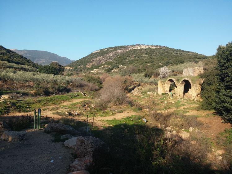 """טחנת קמח בנחל צלמון (צילום: ד""""ר ענת אביטל)"""