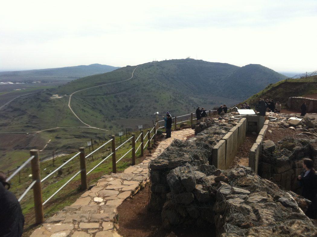 תצפית אל הר אביטל מהר בנטל (צילום: ד