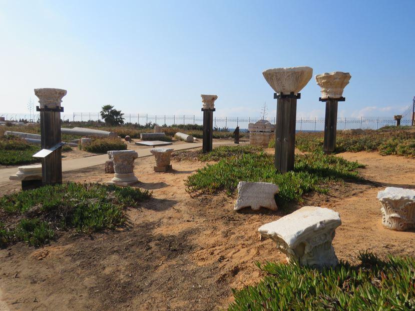 """כותרות עמודים, גן לאומי קיסריה (צילום: ד""""ר ענת אביטל)"""