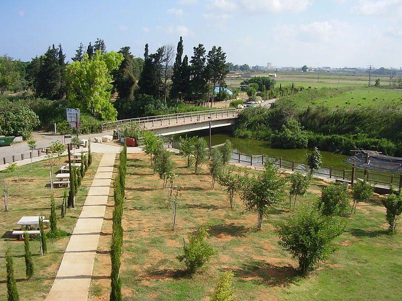 """נחל אלכסנדר, גשר הצבים, צילום: ד""""ר אבישי טייכר"""