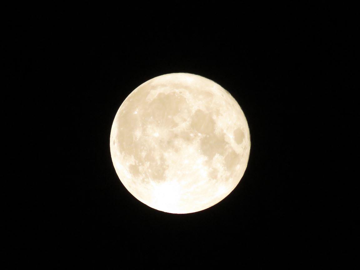 ירח-על מלא סופר-מון: 14 בנובמבר 2016 ,Supermoon November 14