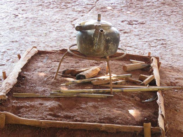 שימושי הבמבוק בשמורת השבטים בצפון תאילנד, צ'יאנג ראי (צילום: ד