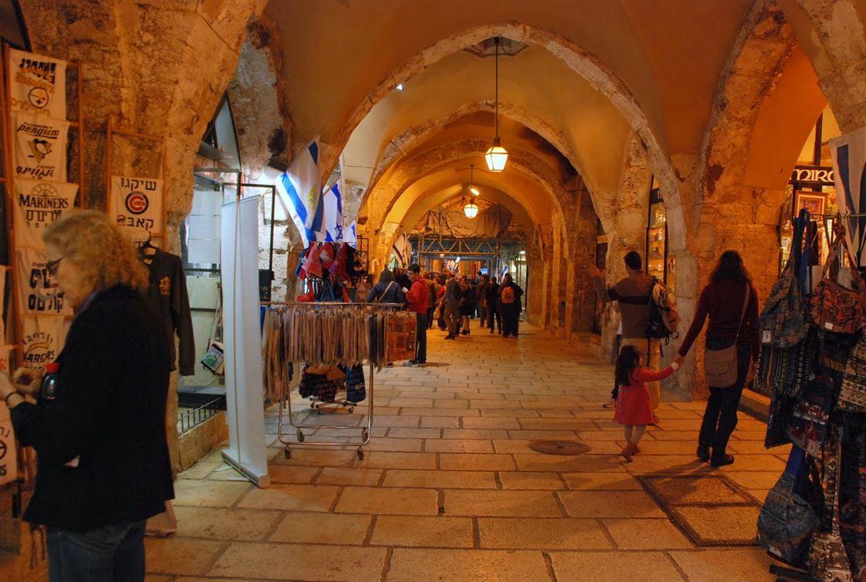 הקרדו ברובע היהודי בירושלים העתיקה