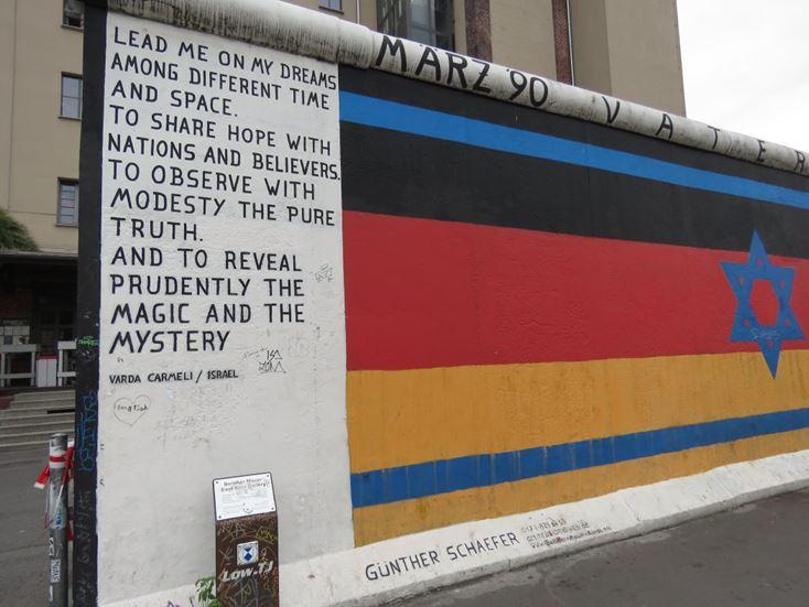 איסט סייד גלרי, ברלין (צילום: ד