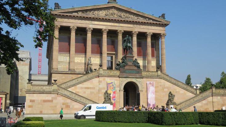 הגלריה של האומנים החדשים,מרכז ברלין (צילום: ד