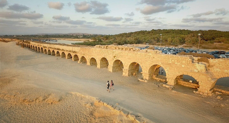 חוף אקוודוקט קיסריה, ויקיפדיה