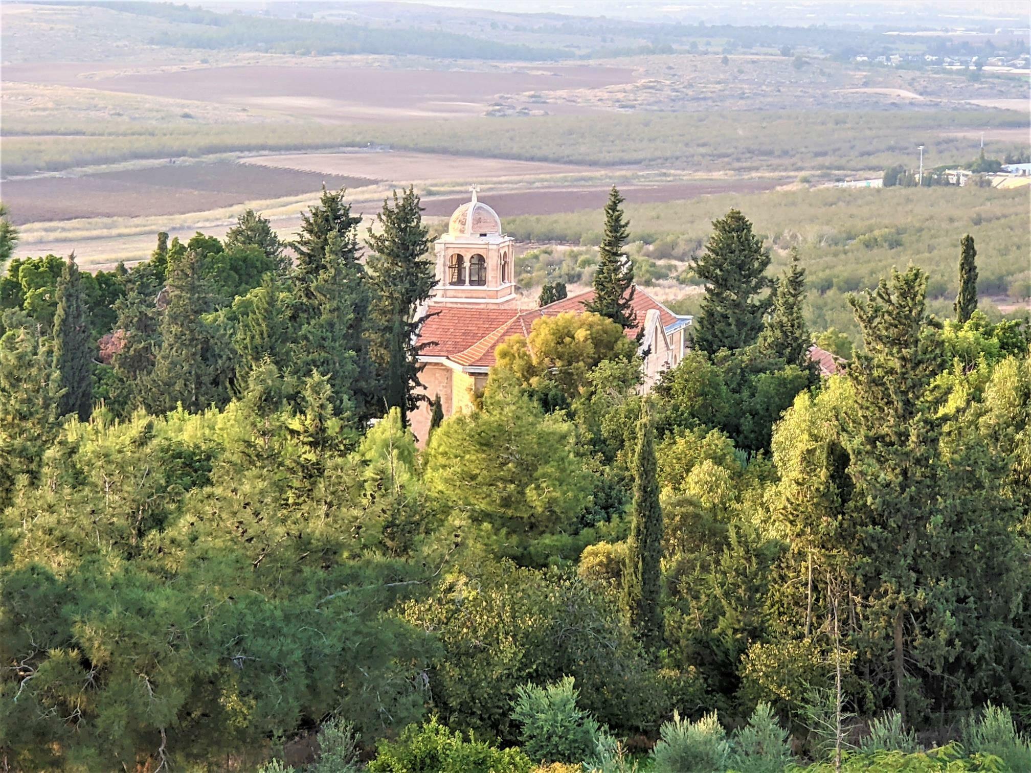 """מנזר השתקנים בלטרון, צילום: ד""""ר ענת אביטל"""