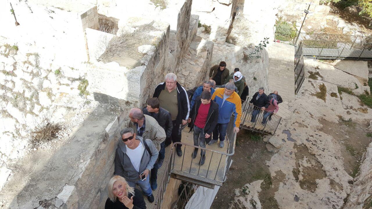 טיילת החומות ירושלים
