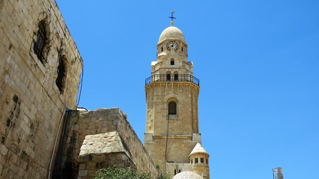 """כנסיית הדורמציון, הר ציון ירושלים (צילום: ד""""ר ענת אביטל)"""