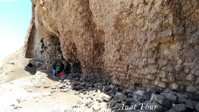 """מבצר הארבל - גן לאומי מצוקי הארבל (צילום: ד""""ר ענת אביטל)"""