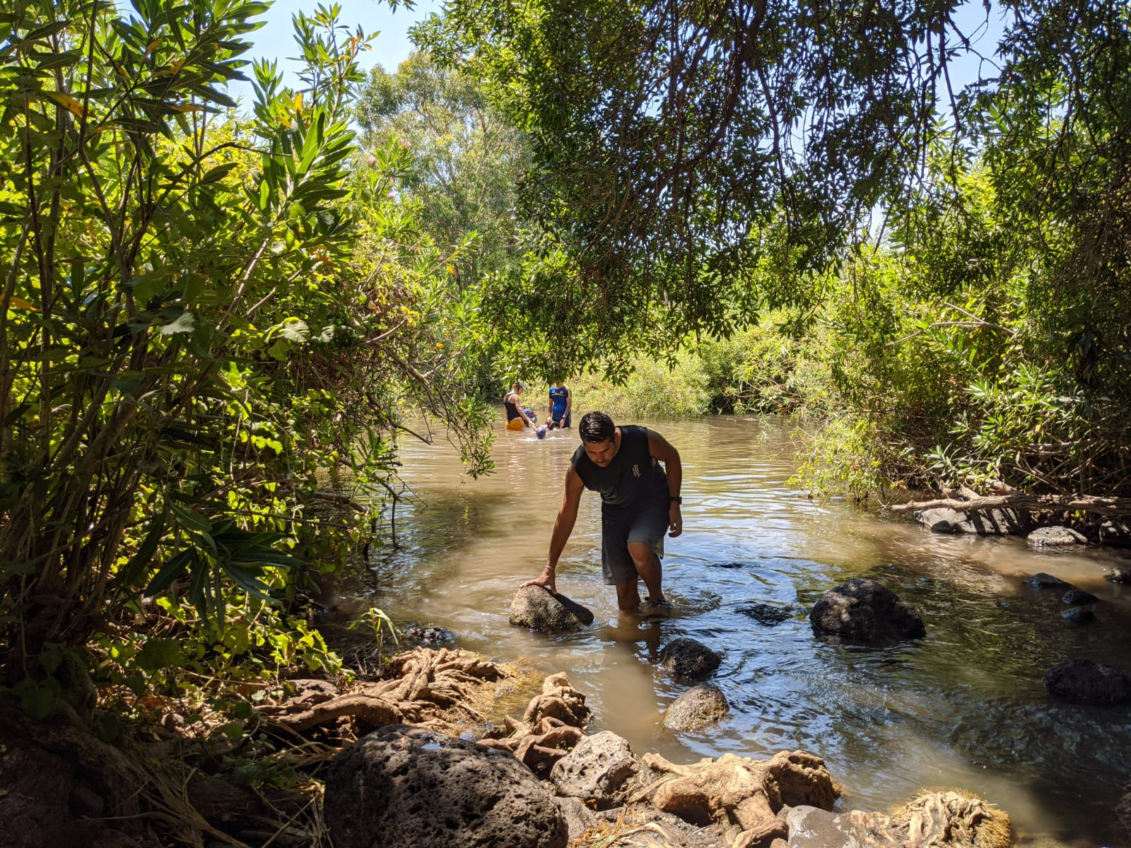 הזאכי: טיול מים משפחתי בערוץ הזאכי בשמורת המג'רסההזאכי: טיול מים משפחתי בערוץ הזאכי בשמורת המג'רסה