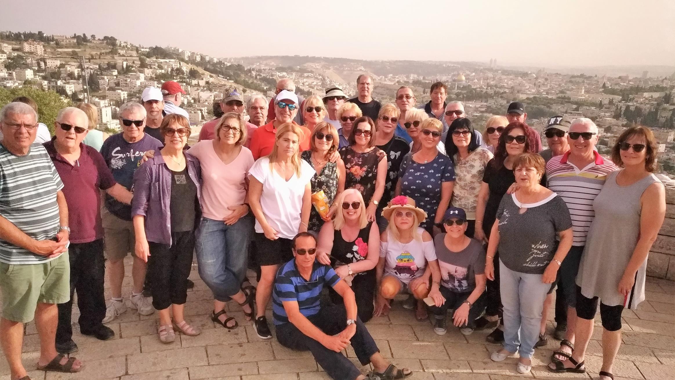 """טיול בהרי ירושלים לקבוצה של מיכה מהקריות (ד""""ר ענת אביטל)"""