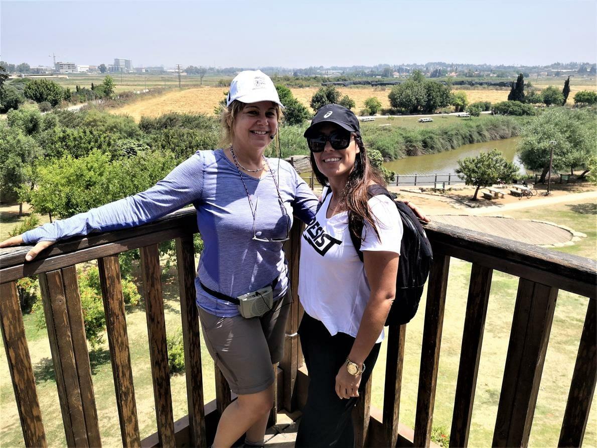 """ביה""""ס אילנות אשדוד, נחל אלכסנדר טיילת פארק גשר הצבים, שביל ישראל, צילום: ד""""ר ענת אביטל"""