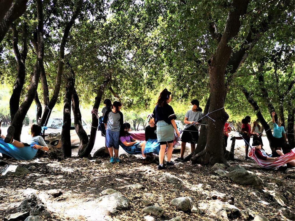 סדנת ערסלים ODT, ובישולי שדה עם תלמידים