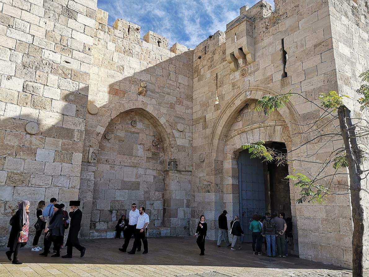 """שער יפו ירושלים, צילום: ד""""ר ענת אביטל"""