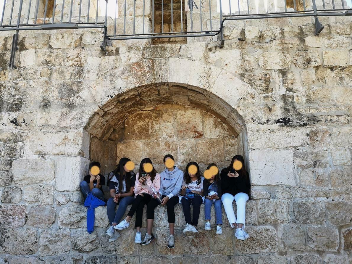 """טיילת החומות ירושלים, צילום ד""""ר ענת אביטל"""