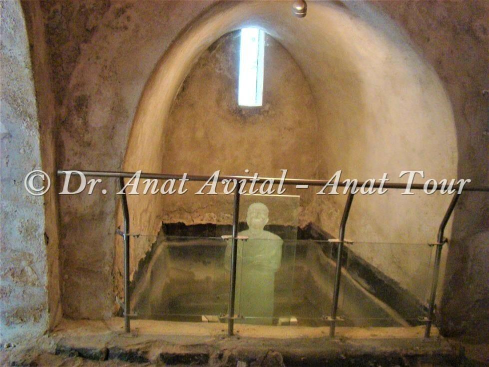 """חמאם טורקי בגן לאומי בית כנסת חמת טבריה, צילום: ד""""ר ענת אביטל"""