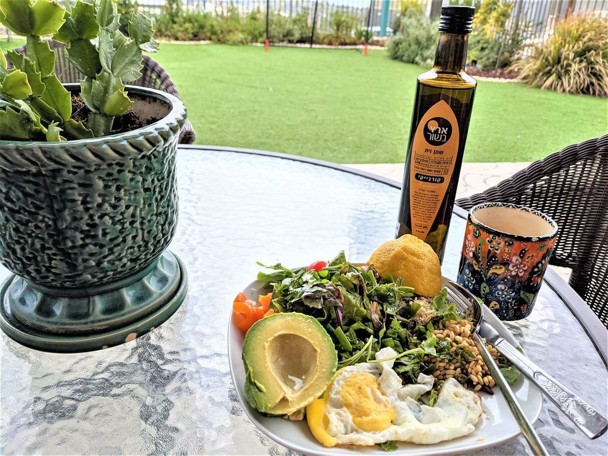 """ארוחת בוקר של בריאות, צילום: ד""""ר ענת אביטל"""