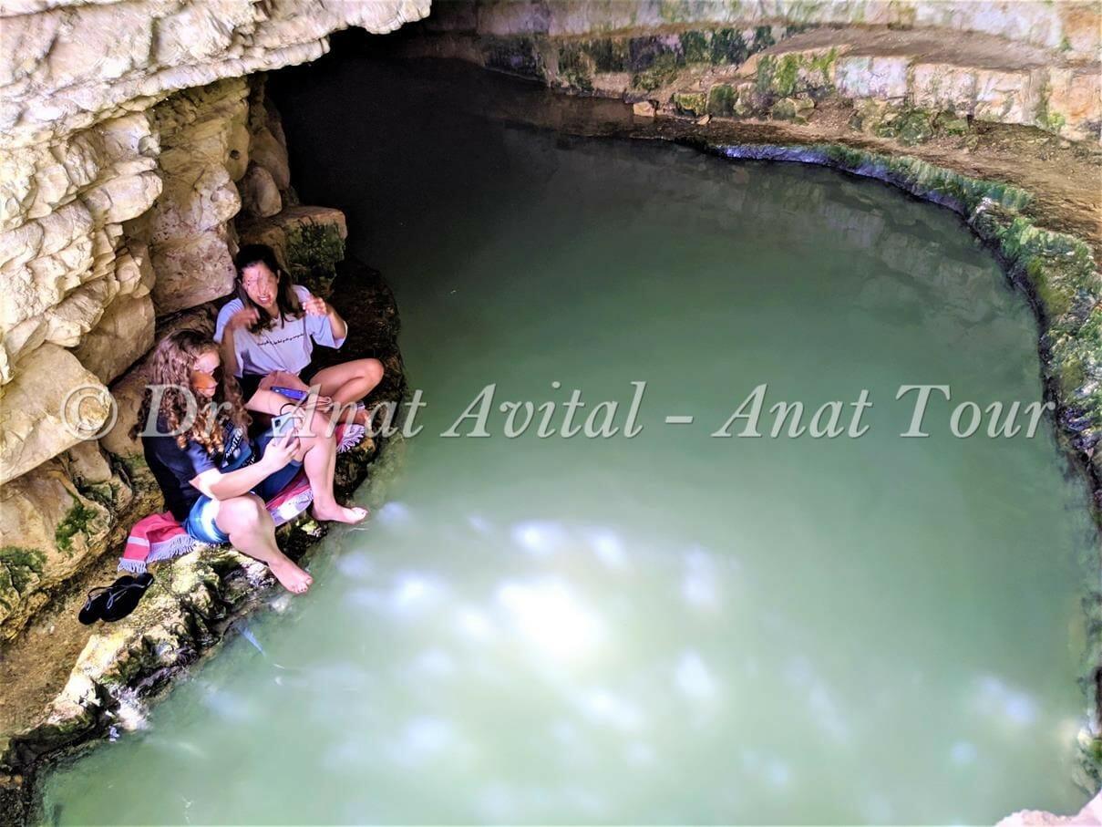 """עין ספיר, טיול מים קצר בהרי ירושלים, צילום: ד""""ר ענת אביטל"""