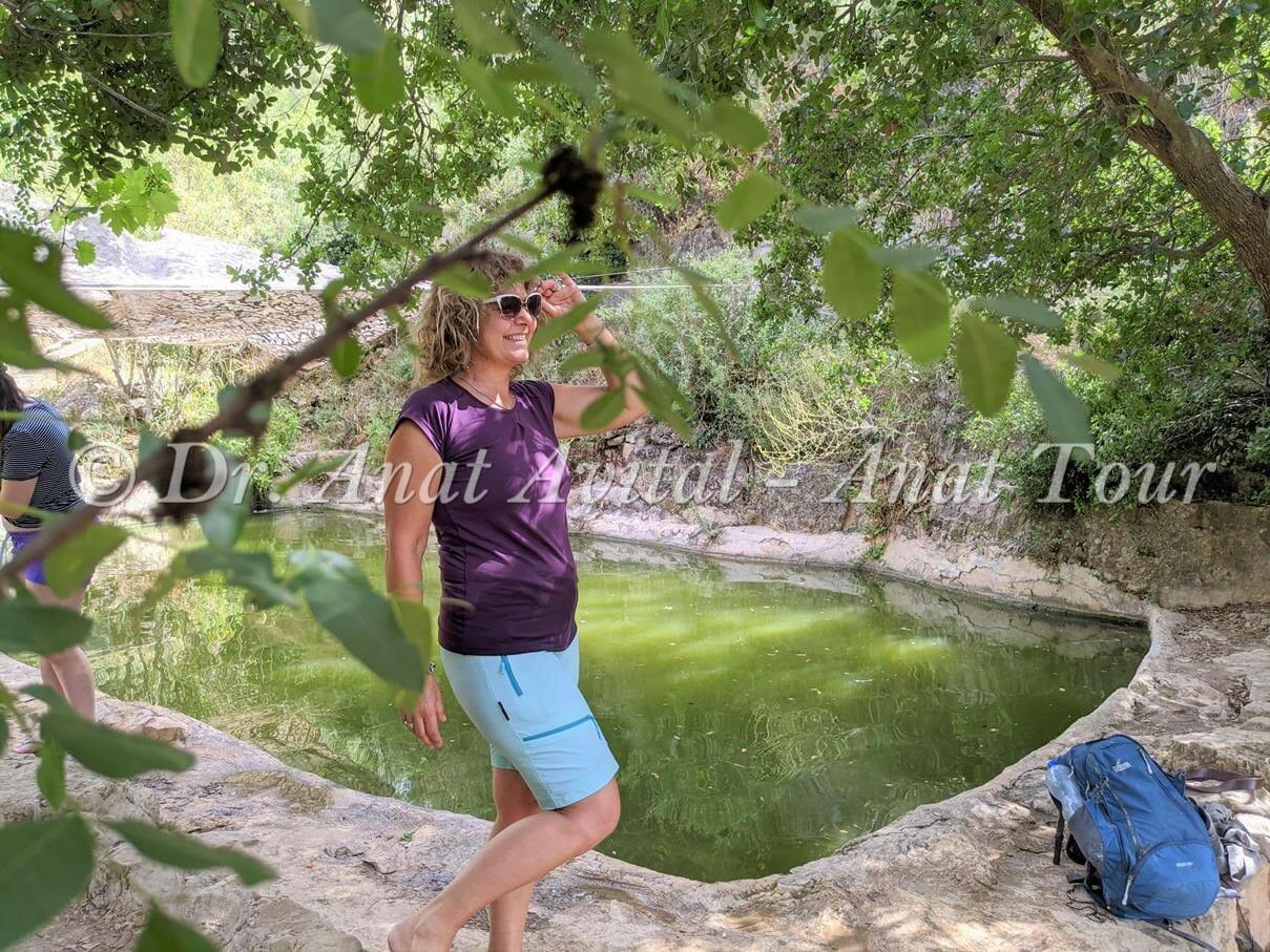 """עין אשקף: טיול מים קצר בהרי ירושלים, צילום: ד""""ר ענת אביטל"""