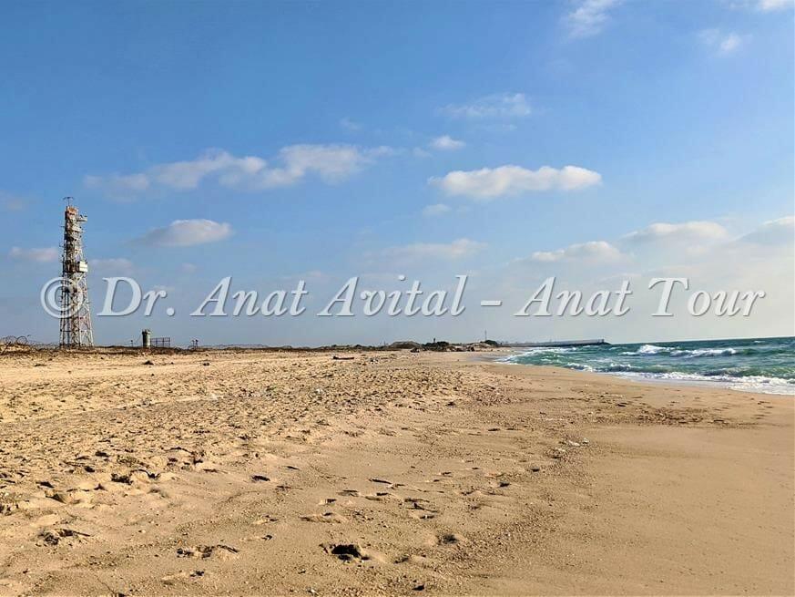 """גדר רצועת עזה וחוף זיקים, צילום: ד""""ר ענת אביטל"""