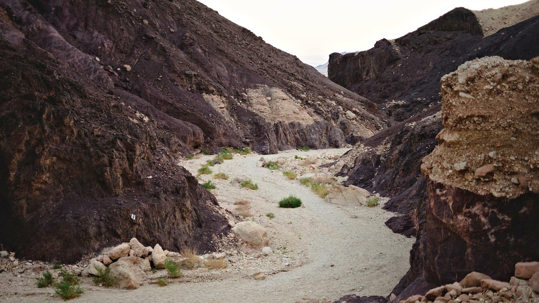 קניון נחל שחורת, טרק בשביל ישראל למיטיבי לכת בהרי אילת, צילום: יוסי אביטל