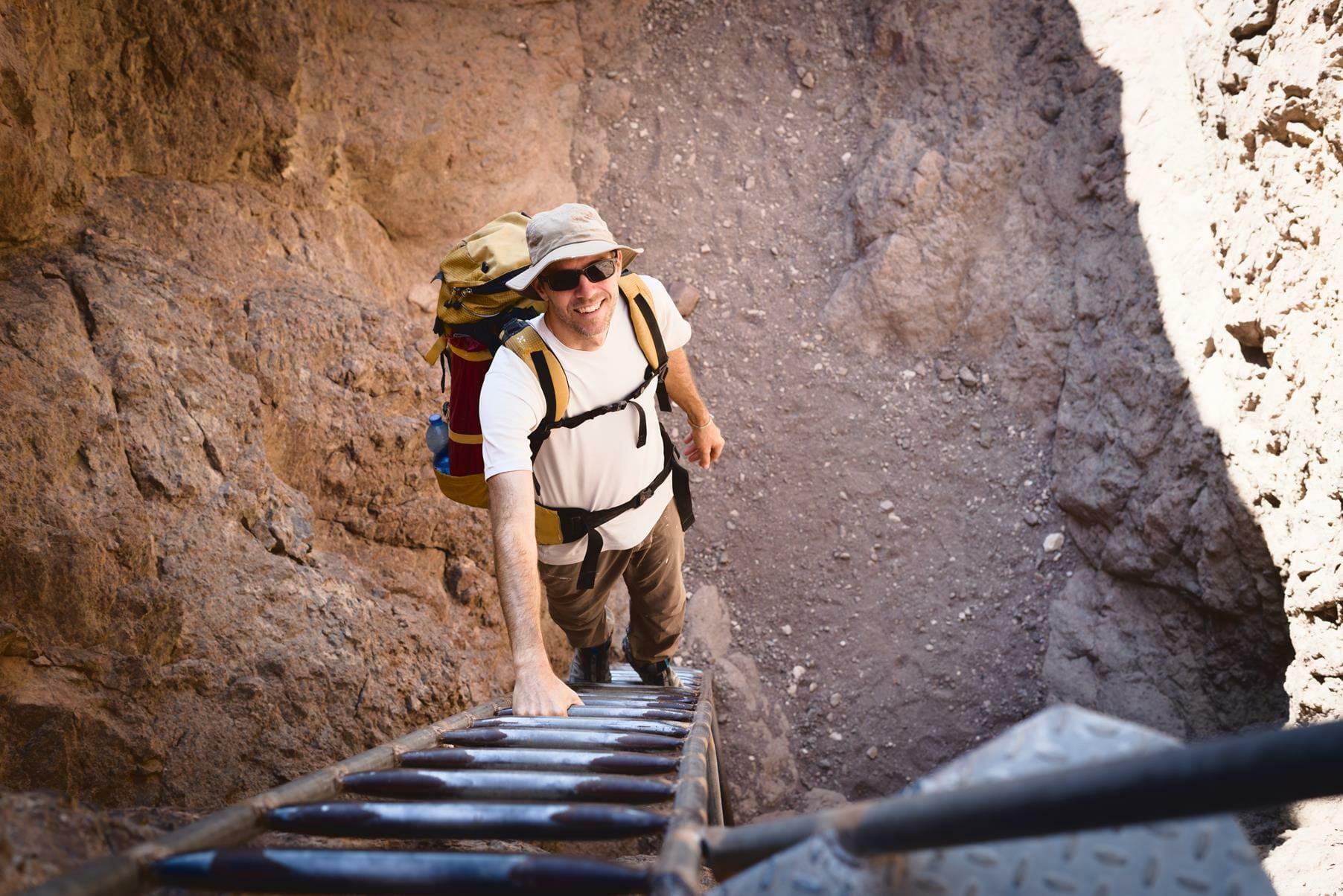 הרי אילת נחל גישרון, טרק על שביל ישראל, צילום: יוסי אביטל