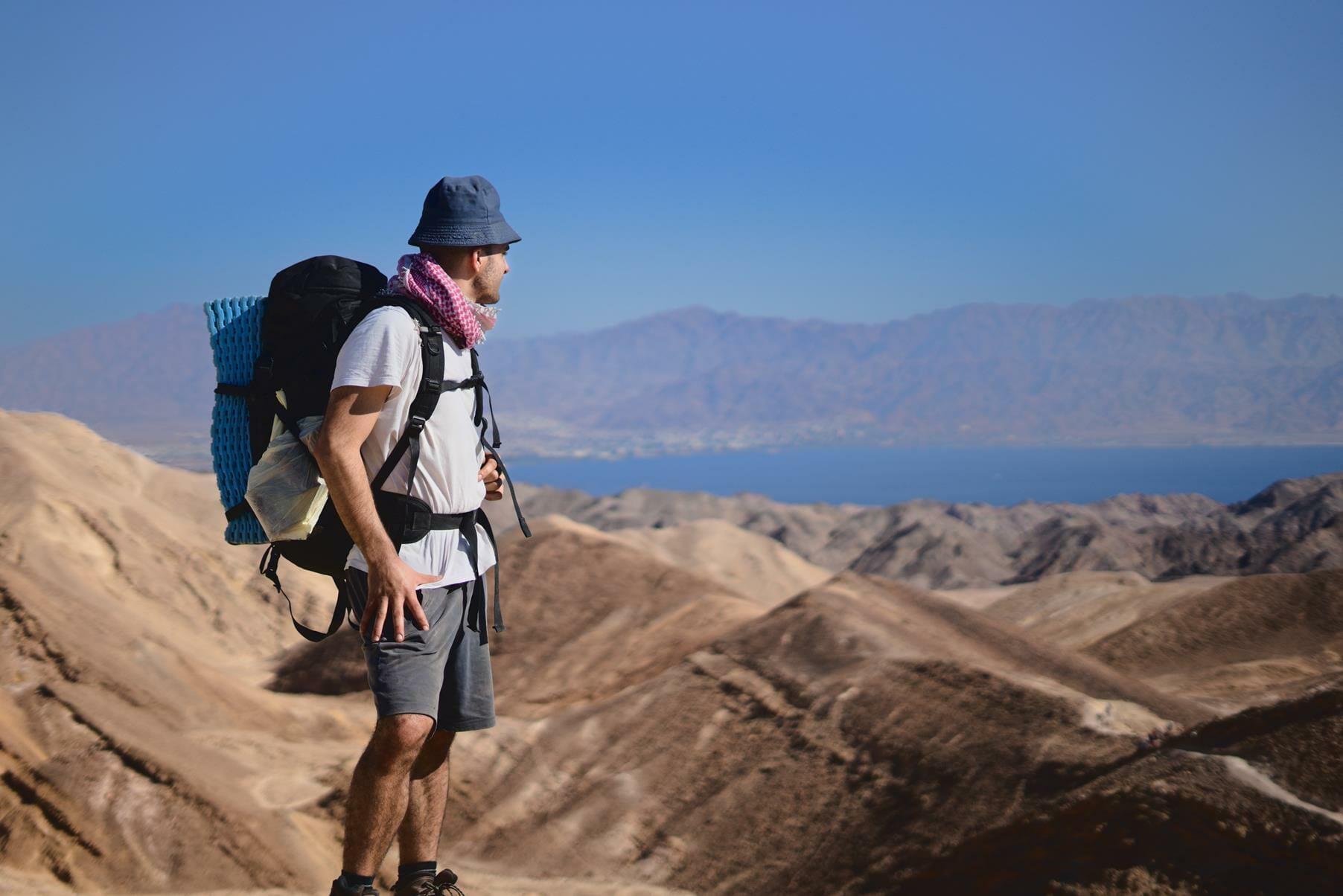הר צפחות ומפרץ אילת, שביליסטים בשביל ישראל, צילום: יוסי אביטל