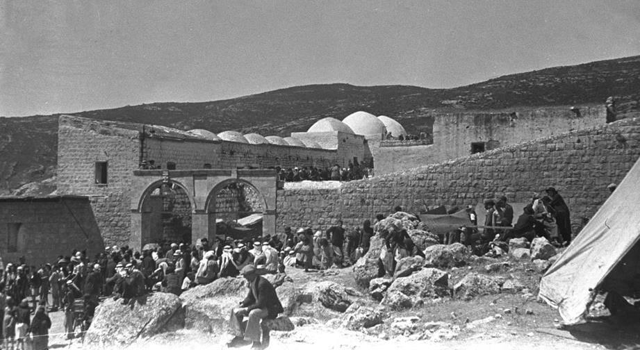 קבר רבי שמעון בר יוחאי מירון, 1939