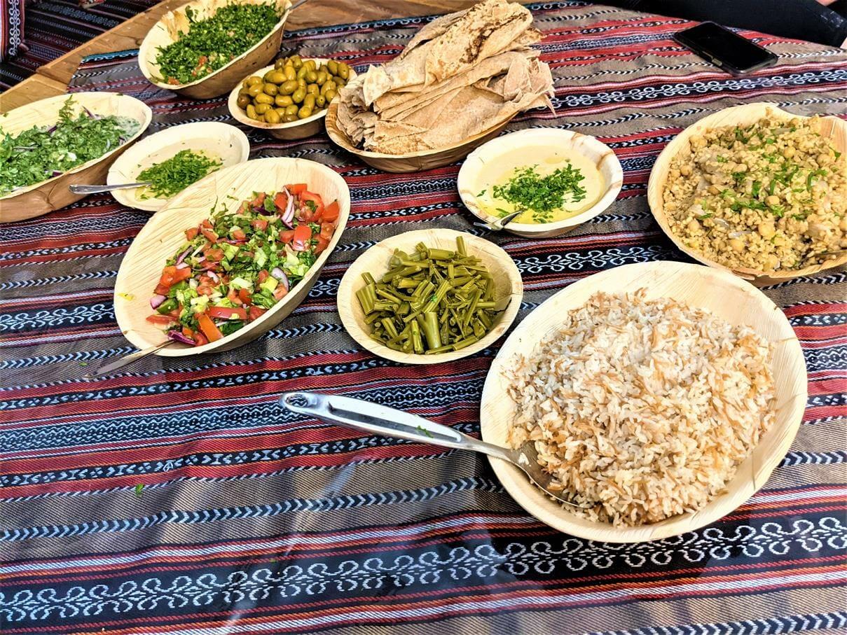 אירוח דרוזי בדיוואן של מונה בדליית אל-כרמל, טיול יומולדת משפחות 2021